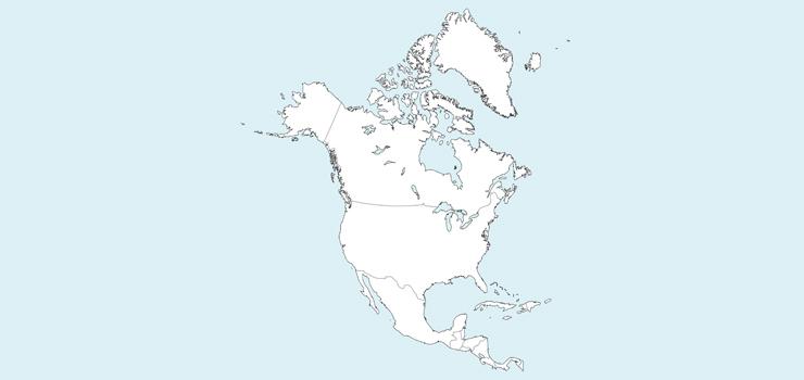 Kuzey Amerika Kıtası