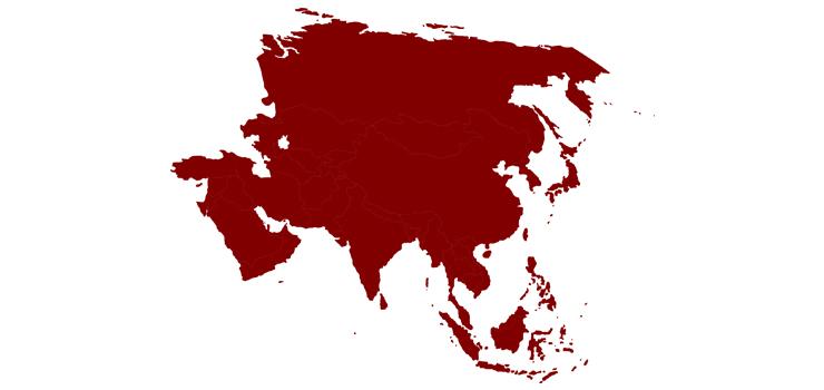 Asya Kıtası'ndaki Ülkeler ve Başkentleri