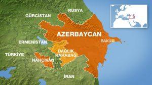 Azerbaycan Haritası