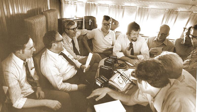 Mekik diplomasisinin yaratıcısı olarak kabul edilen Henry Kissenger.