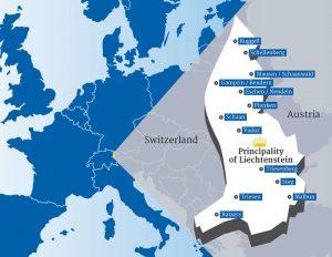Lihtenştayn Haritası