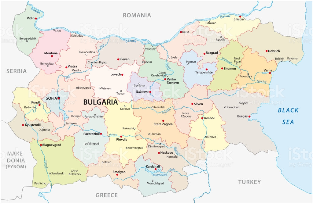 bulgaristan haritası